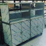 Industrial steel kitchen supplies